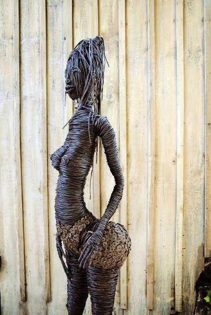 Amande mathieu Rousso sculture